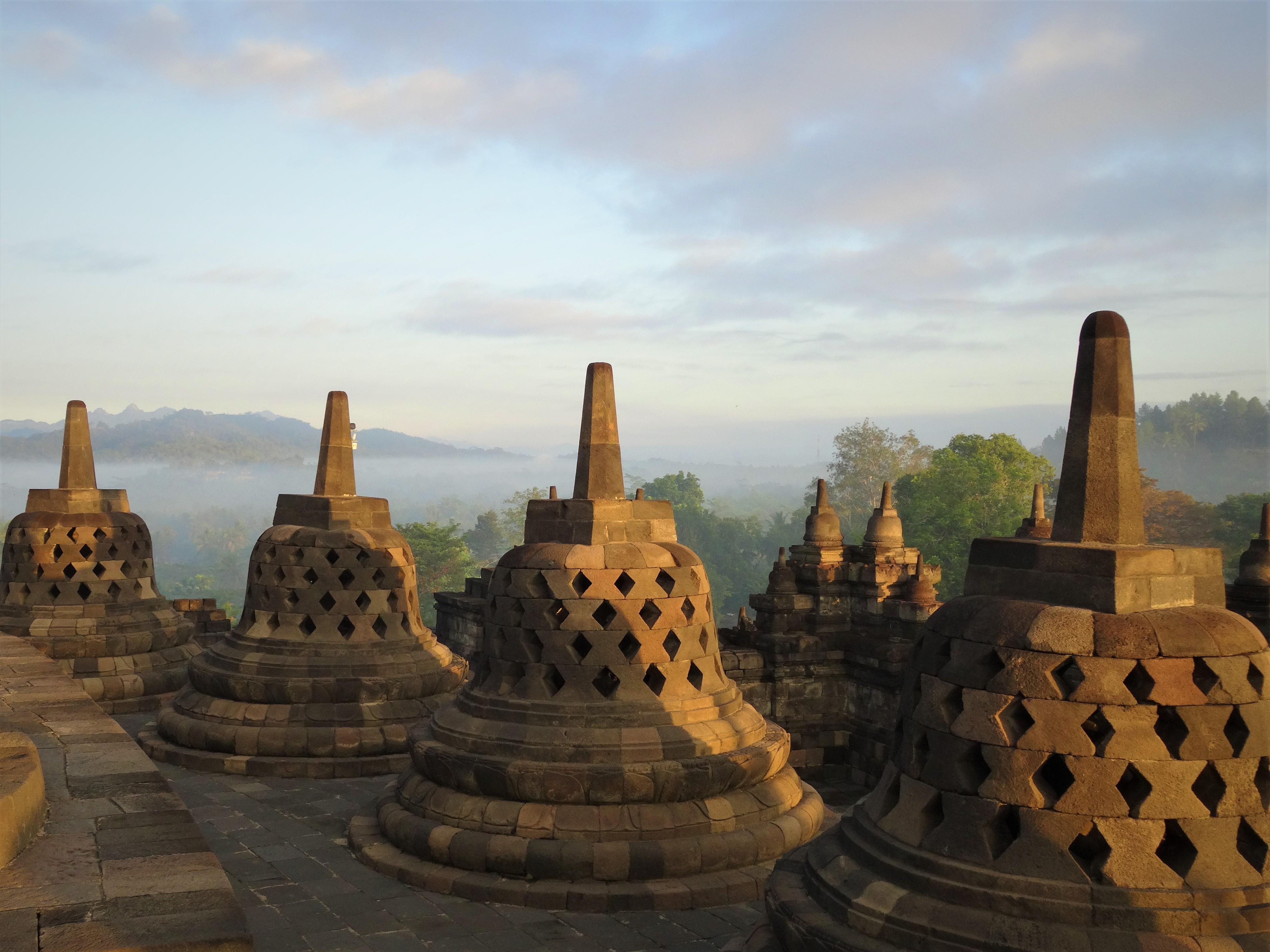 Borobudur UNESCO World heritage site Yogyakarta
